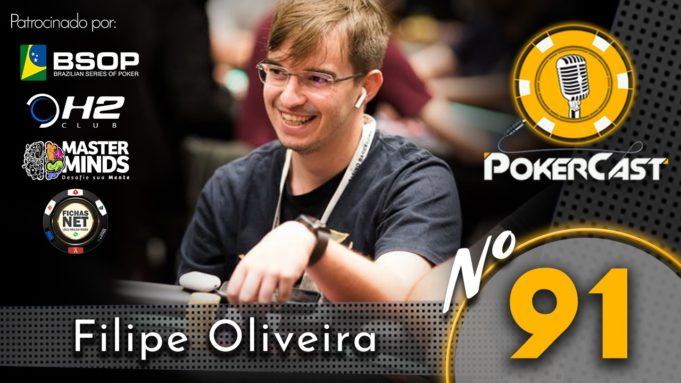 Filipe Oliveira no Pokercast 91
