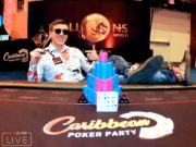 Anatoly Filatov - Campeão MILLIONS High Roller - Caribbean Poker Party