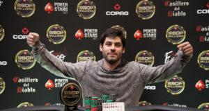 José da Costa Neto campeão do 8-Game do BSOP Millions