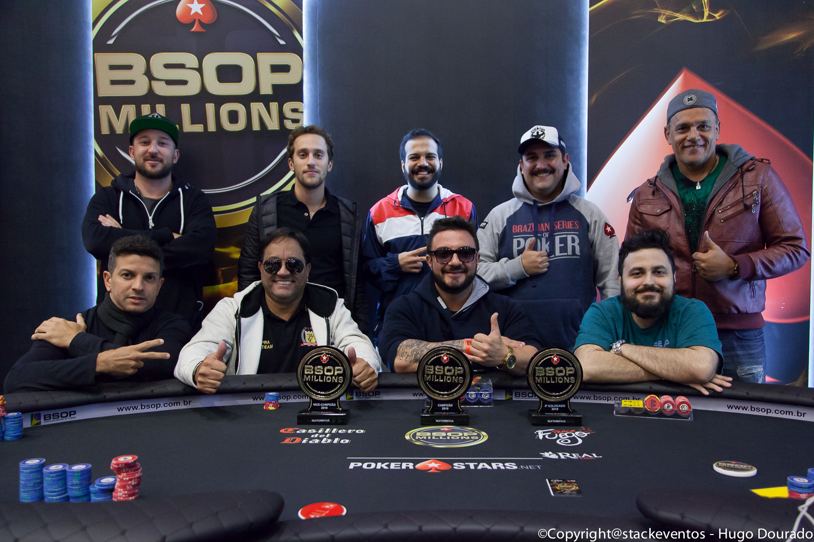 Mesa Final do Turbo Knockout do BSOP Millions
