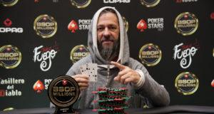 Paulo Goulart campeão do Seniors do BSOP Millions