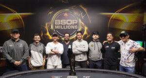 Finalistas do BSOP Millions
