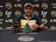 Eduardo Leite campeão do Turbo Win The Button do BSOP Millions