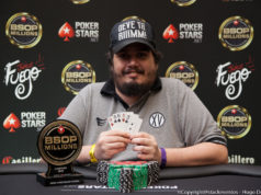 Marcelo Cunha - Campeão Mixed Games Dealers Choice - BSOP Millions