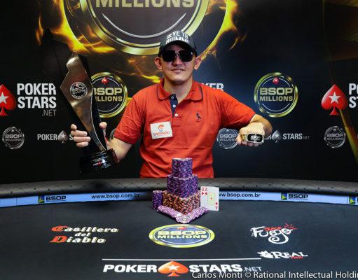 "Madson Moura ""Urea"" - Campeão Main Event BSOP Millions"
