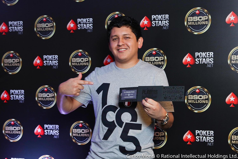Sebastian Gavino campeão do Micro Millions Akkari Road to PSPC