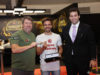 Chris Moneymaker, Yuri Martins e Devanir Campos - BSOP Millions