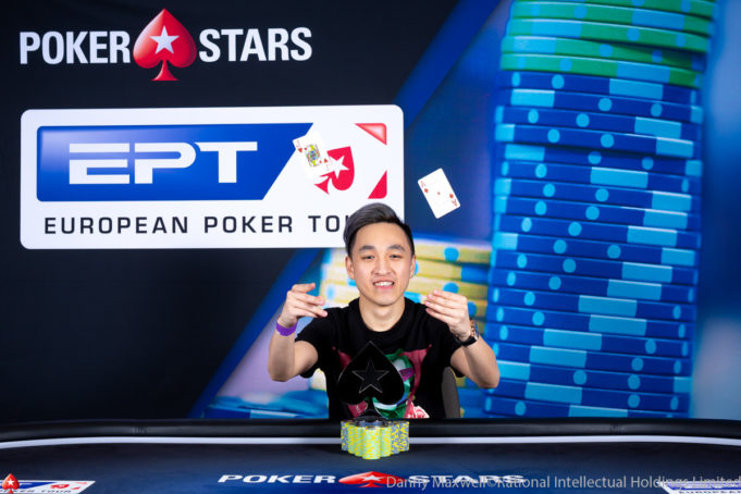 Chin Wei Lim campeão do Single Day High Roller do EPT Praga
