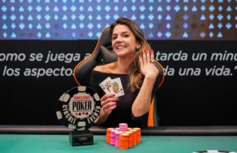 Dayane Kotoviezy é campeã do Ladies Event da WSOP Uruguai