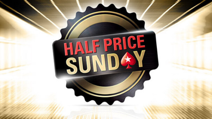 PokerStars realizará Half Price Sunday