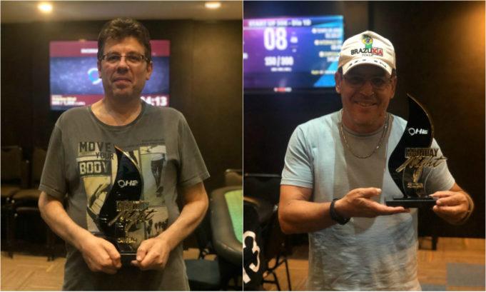 Raul Alberto e Jairo Ferreira primeiros colocados do ranking Monday Night Anual