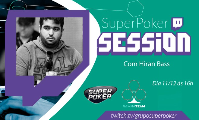 SuperPoker Session - Hiran Bass