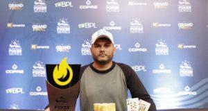 Felipe Guimarães campeão do On Fire do NPS Grand Final