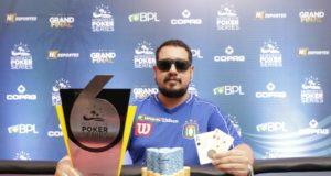 André Nogueira campeão do 6-handed do NPS Grand Final