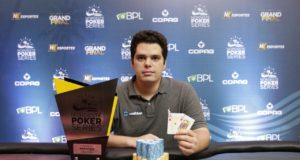 Marco Oliveira campeão do Main Event do NPS Grand Final