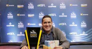 Hugo Leonardo campeão do Pot-Limit Omaha do NPS Grand Final
