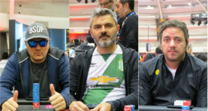 Julien Pieffet, David Santarelli e Sebastian Lobo - BSOP Millions