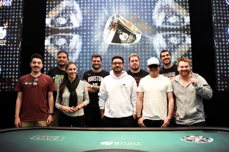Mesa Final Main Event - WSOP Uruguai