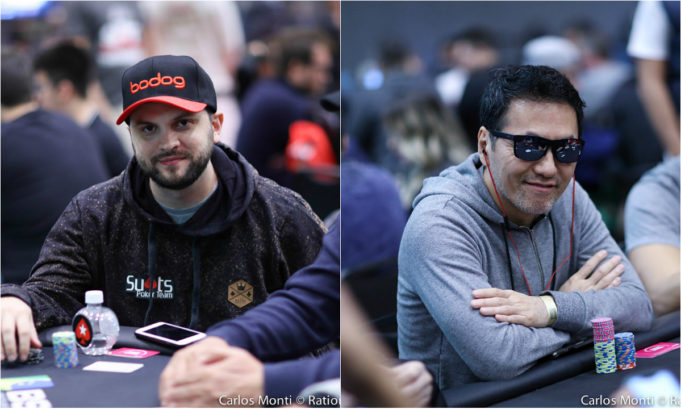 Saulo Sabioni e Alex Sako - BSOP Millions