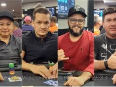 Augusto Cano, Willian Melo, William Rocha e Sidnei Parente