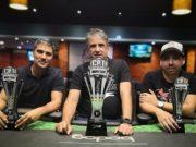 Ricardo dos Santos, Alvaro Ribeiro e Ricardo Andrade - H2 Club Curitiba