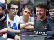 André Akkari, Rafael Moraes, Bruno Volkmann, Fabiano Kovalski e Thiago Crema
