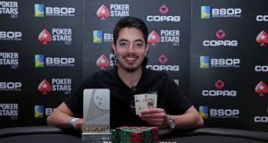 Edson Tsutsumi campeão do 1-Day High Roller do BSOP Brasília