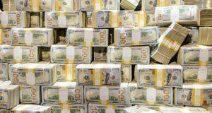 Pilha de dinheiro - WSOP