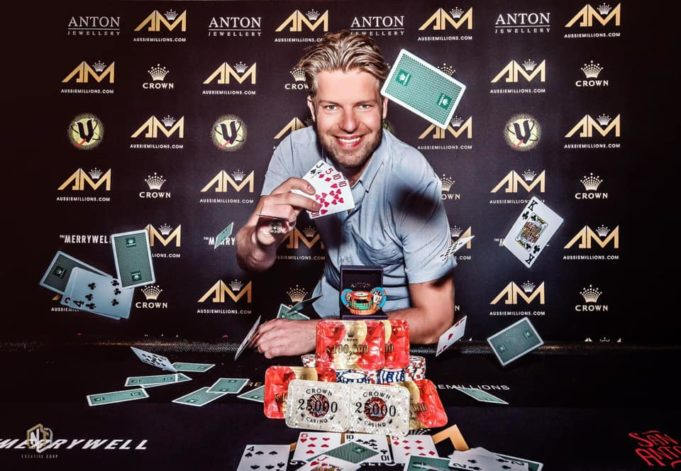 Jorryt van Hoof campeão do A$ 25.000 Pot-Limit Omaha Challenge