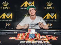 Kahle Burns campeão do A$ 100.000 Challenge do Aussie Millions