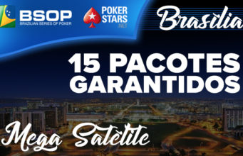 Mega Satélite para o BSOP Brasília