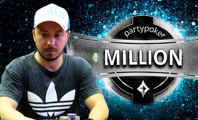 Lino Miotto campeão do partypoker MILLION