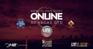 Satelites para o Main Event do CPH na Liga Online H2 Brasil
