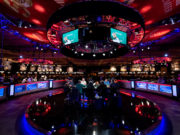 Mesa da TV - WSOP