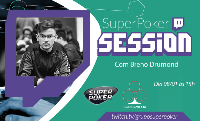 SuperPoker Session - Breno Drumond