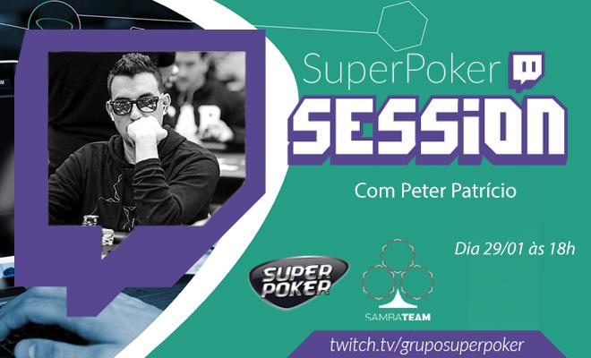 Peter Patrício - SuperPoker Session
