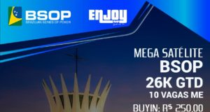Enjoy Poker Club realiza Mega Satélite para o BSOP Brasília