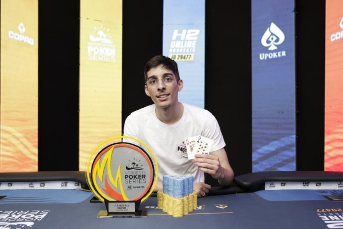 Geordan Fonseca campeão do On Fire do NPS Natal