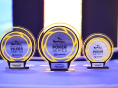 Troféus do High Roller do NPS Natal