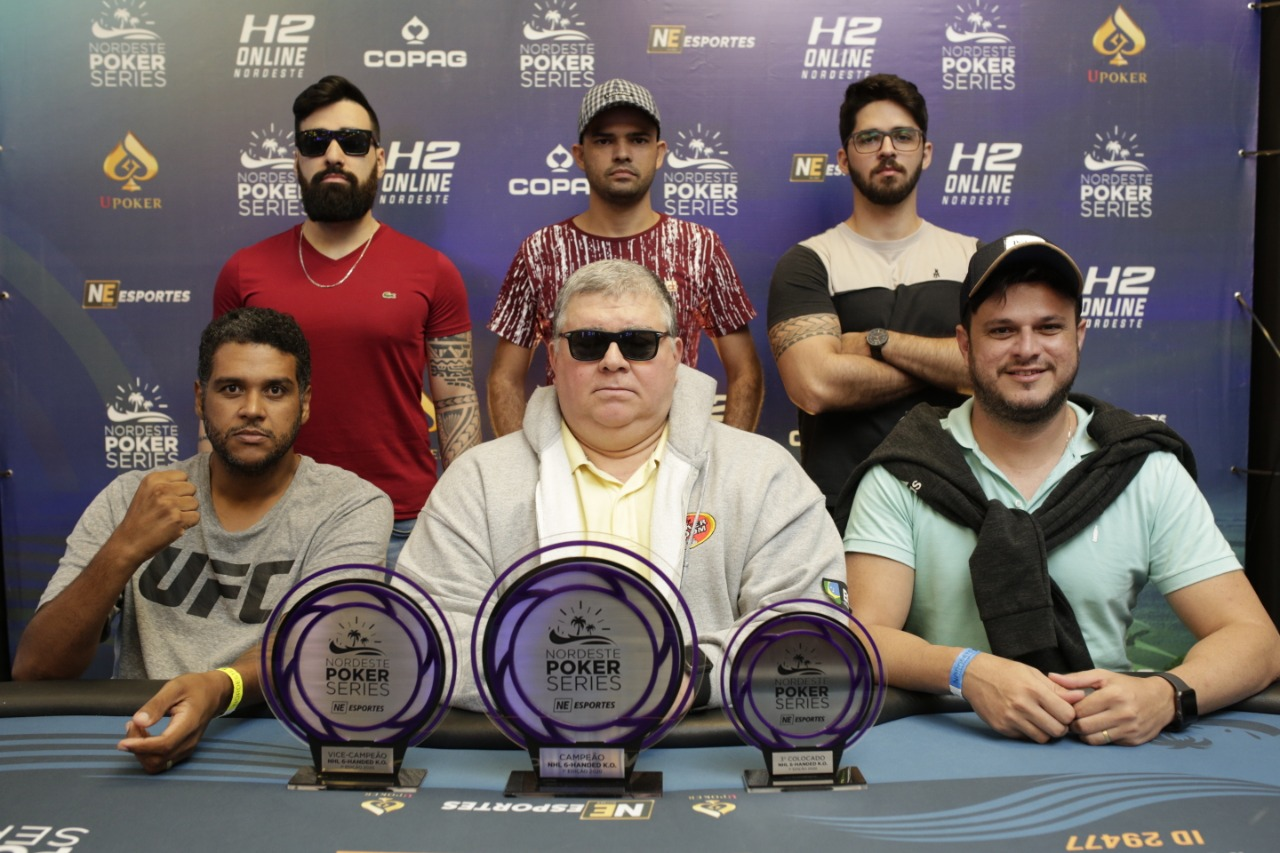 Mesa Final do 6-handed Knockout do NPS Natal