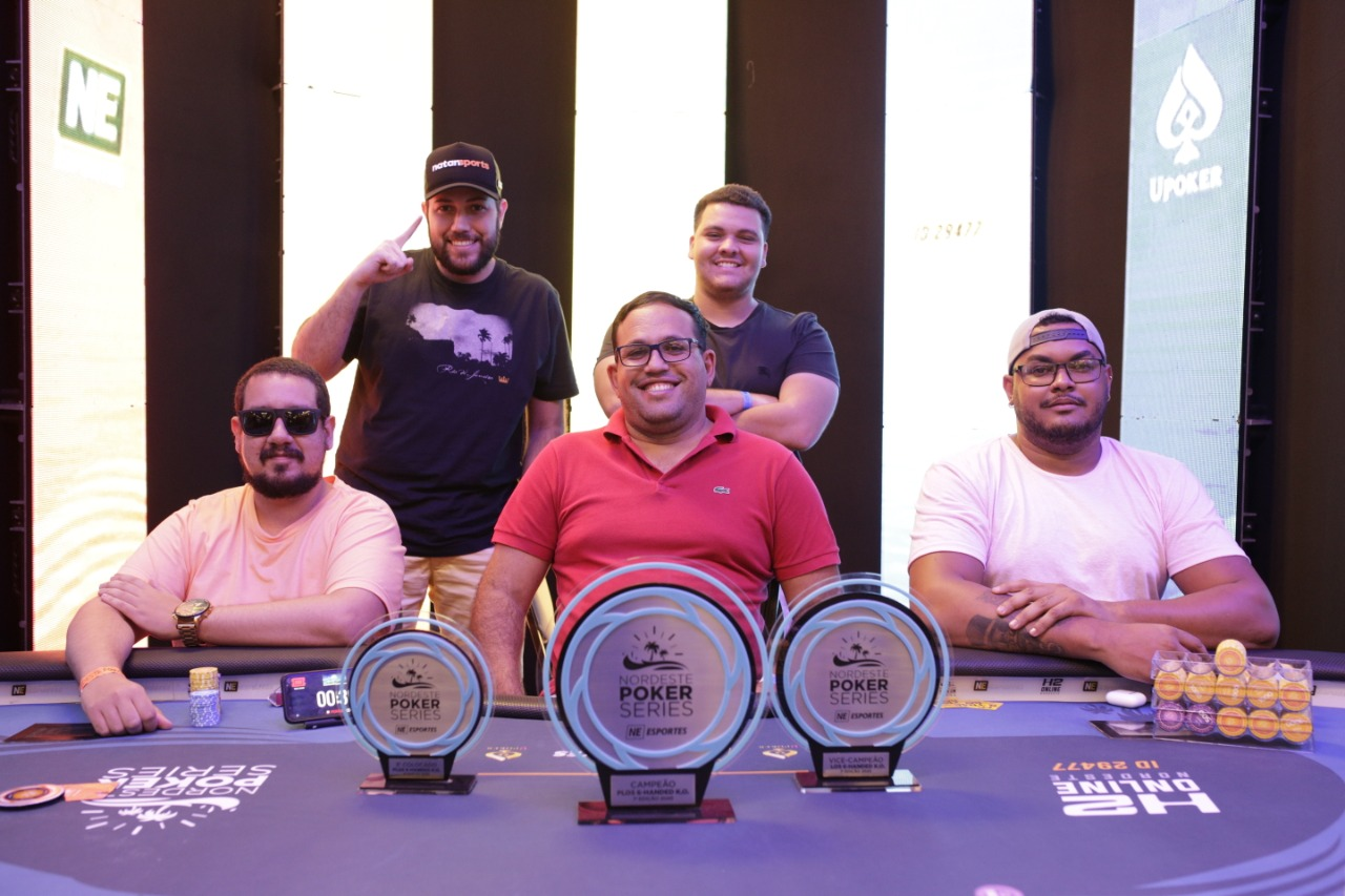 Mesa final do Pot-Limit Omaha 5-Cards 6-Max KO do NPS Natal