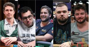 Bruno Volkmann, Rafael Moraes, João Simão, Pedro Padilha e Fabiano Kovalski