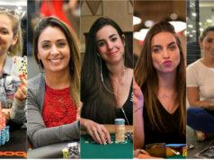Milena Magrini, Mirelle Moschella, Laura Cintra, Bruna Unzueta e Luana Alves