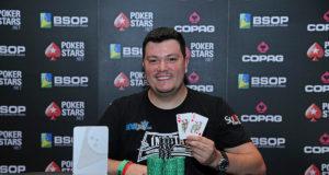 Lincon Freitas campeão do 6-handed Turbo Knockout do BSOP Brasília