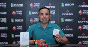 José Carlos campeão do 6-handed do BSOP Brasília
