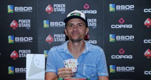 Trajano Alves campeão do Turbo DeepStack do BSOP Brasília