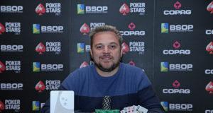 Rodrigo Garrido campeão do Mixed Games Dealers Choice do BSOP Brasília