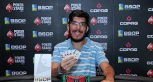 Nikolas Carvalho campeão do PLO Dealers Choice do BSOP Brasília