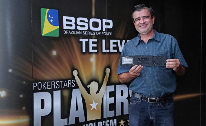 Elias Lima campeão do All in ou Fold do BSOP Brasília