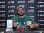 Bruno Cardozo campeão do Turbo SuperStack do BSOP Brasília